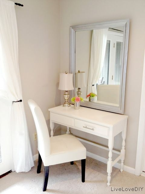 3 Minimalist Makeup Area Find Your Fantasy Makeup Room