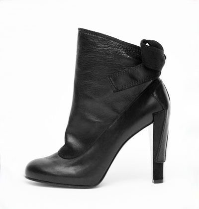 Christian Lacroix Leather Ankle Boot