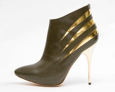Alexander McQueen Leather Bootie