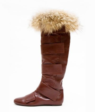 Alexandra Neel Napa Madmax Boot with Fur Trim