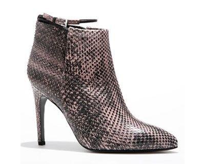 Calvin Klein Melange Python Papyrus Heel Boot