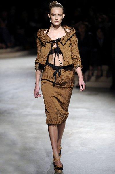 Rumpled Charm from Prada Milan Fashion Week Spring 2009