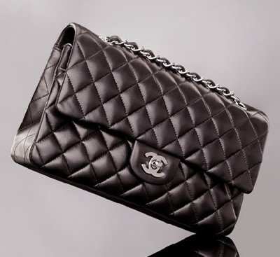 - Chanel 'Tibet' Shearling Gringes, Lamskin Flap Bag with Matching Mini Bag