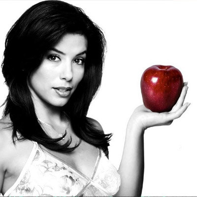 Eva Longoria apple