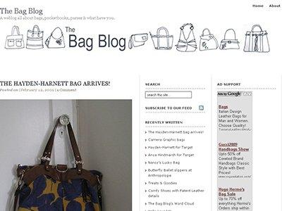 the BAG BLOG