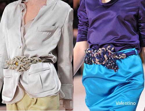 Bold Belts ...