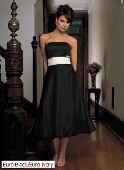 The little black dress 5 hot bridesmaid dresses for for Little black wedding dress