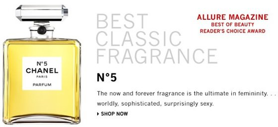 Chanel N5 ...
