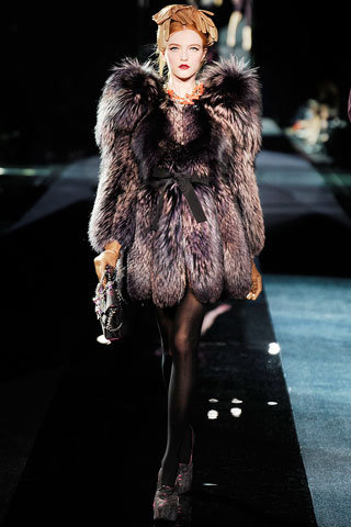 Dolce & Cabbana Short Fur Coat - 20 Most Fashionable Designer…