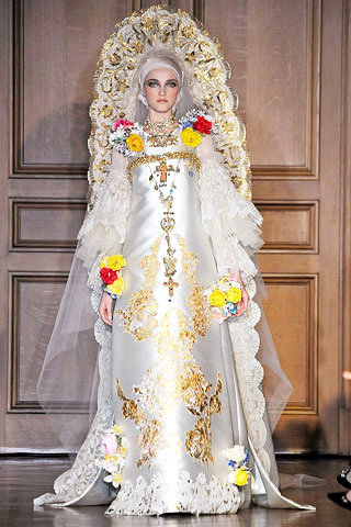 1 Christian Lacroix Over The Top Folk Wedding Dress 14 Most