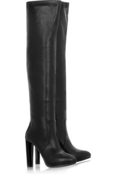 Celine Leather over the Knee Boots