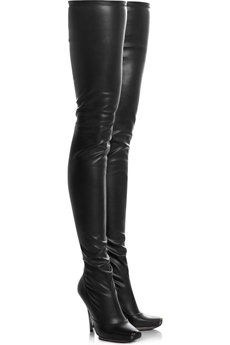 Stella McCartney Thigh High Faux Leather Boots - 17 Most…