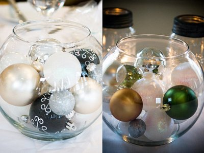 1. Christmas Centerpieces... - 5 Very Cool Winter Wedding Ideas ...