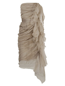 Lanvin Nude Dress