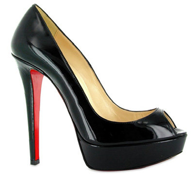 christian louboutin beaute peep-toe pumps