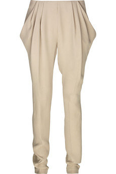 Vionnet Sculptural Silk Pants