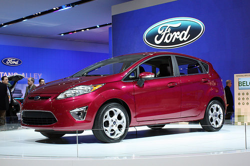 2011 ford fiesta naias 2010 8 coolest cars of the auto show. Black Bedroom Furniture Sets. Home Design Ideas