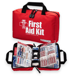 First aid kits for aircraft