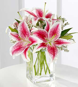 The FTD Pink Lily Bouquet