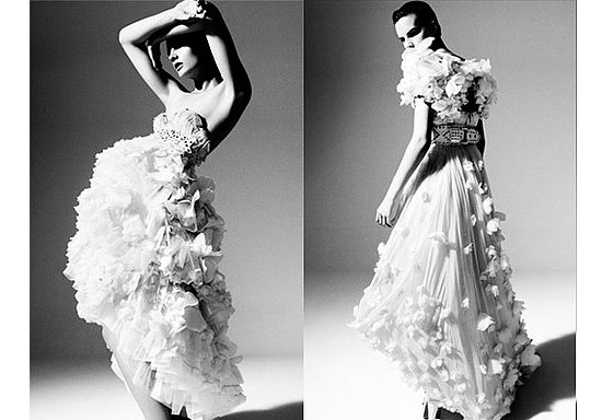 Temperly Bridal 15 Fab Black And White Ads Beauty
