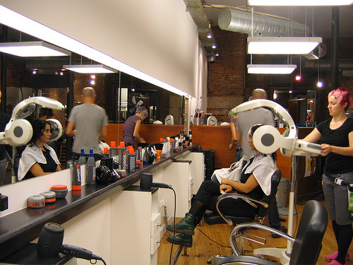 ... at Interiors: - 10 Ways to Find a Great Beauty Salon