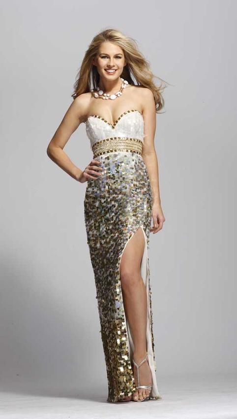 2. Embellished Glamour Prom Dress - 8 Hottest Prom Dresses ... → 👗…