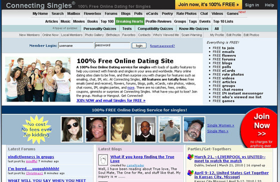 How to the free online dating site work