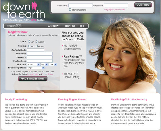 a free online dating website