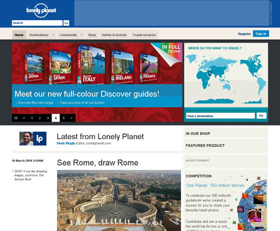 Lonely planet top 10 travel booking websites for Best travel booking sites