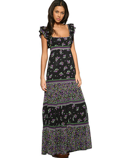 Mango Maxi Dress - 10 Cute Floral Dresses for Spring... …