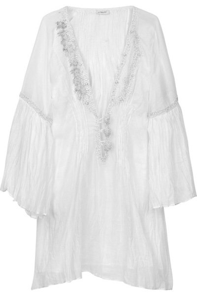 Emamo Embellished Cotton Kaftan