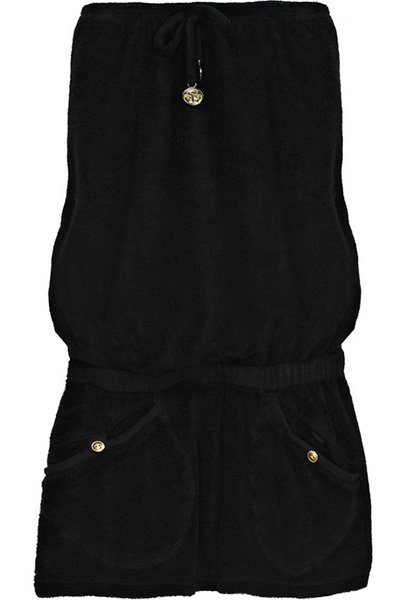 Shay Todd Strapless Toweling Mini Dress