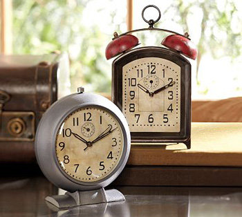 ... Pottery Barn Vintage Clock ...