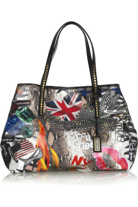 Jimmy Choo Limited Edition PEP Printed Tote