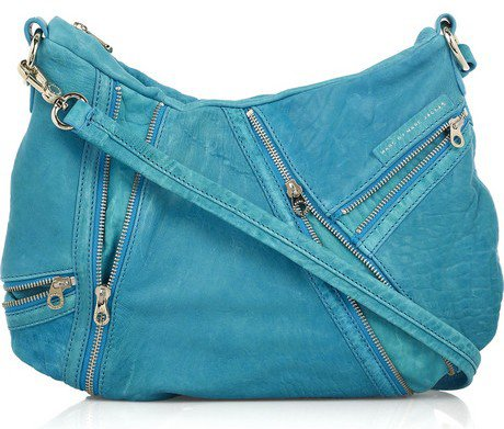 Marc by Marc Jacobs Kelsey Zipped Leather Bag