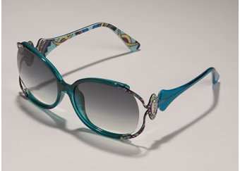 Emilio Pucci Metal Arm Sunglasses
