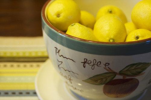 Frozen Lemonade Slushie