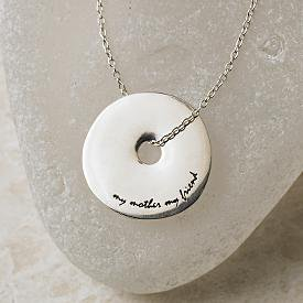 """""""My Mother, My Friend"""" Necklace"""