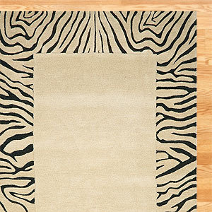 World market zebra border wool rug 7 animal print home dcor world market zebra border wool rug voltagebd