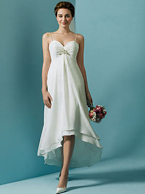 summer white wedding dresses