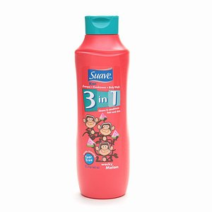 Suave for Kids 3-in-1 Shampoo, Conditioner, & Bodywash, Wacky Melon