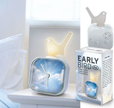 Early Bird Alarm Clock - 8 Cool Alarm Clocks ... Lifestyle