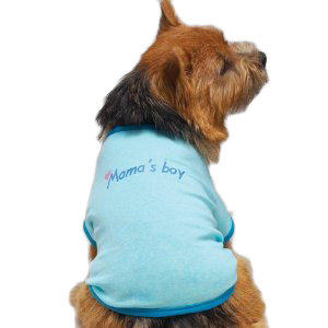Mama's Boy Doggy T-Shirt