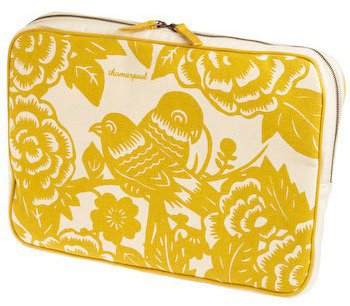 Lillian's Lovebirds Laptop Sleeve