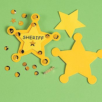 """Sheriff"" Badge Craft Kit"