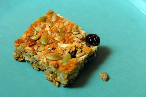 Breakfast Bars with Fiber