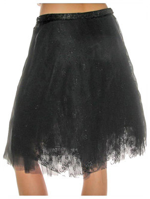 Loy and Ford Chiffon Skirt Black