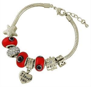 Pandora Style I Love You Bracelet