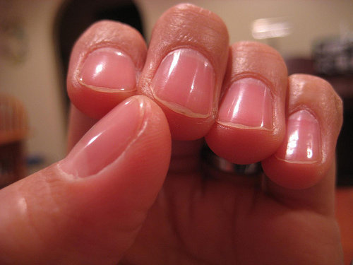 Wear a Nail Strengthener