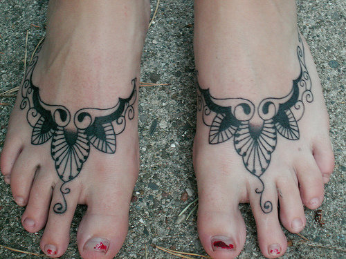 Foot 13 most painful places to get a tattoo beauty for How sore is a tattoo on your foot